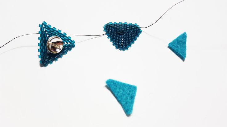 Tips & Tricks  Come inserire il perno degli orecchini a triangolo