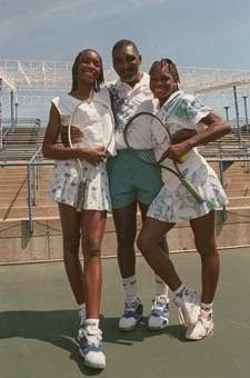 Venus Serena and DAD's VISION. Richard Williams, the father of tennis phenoms Venus and Serena, made the successful journey from a man who self-taught himself tennis fundamentals and then developed two Tennis Champions who changed the women's game.