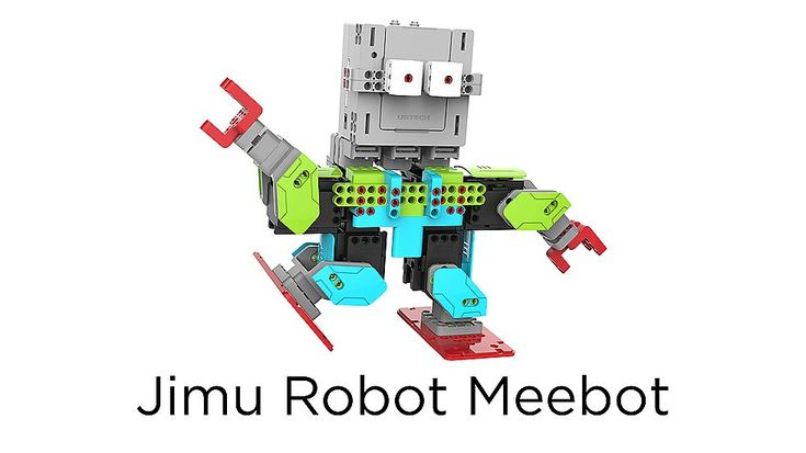 Create a unique humanoid robot with Ubtech's Jimu Robot Meebot robot kit - and program it with an app on your iPhone or iPad. Buy online now at apple.com.