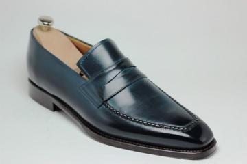 This is how shoes should look.: Loafers De, Blue Boxes, Vent Loafers, Men Style, Achat Loafers, Men Loafers, Loafers Men, Men De, Dark Blue