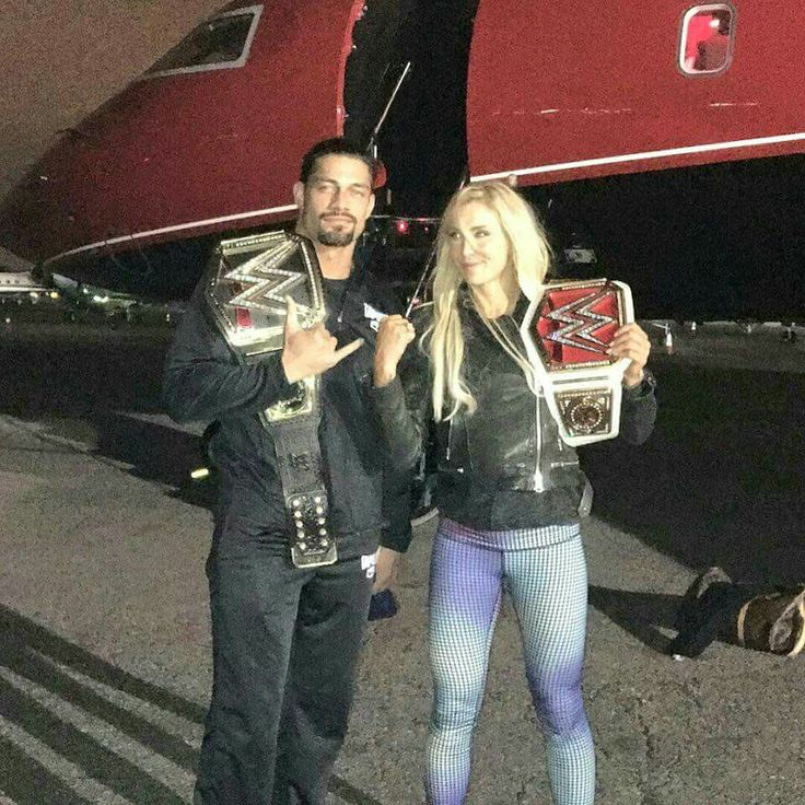 Roman Reigns and Charlotte