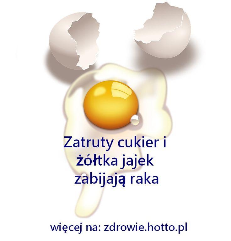 Dwa różne SPOSOBY NA RAKA. Zatruty cukier i żółtka jajek zabijają raka