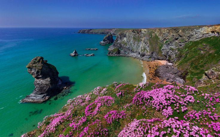 Cornualles Inglaterra Mar Celtico