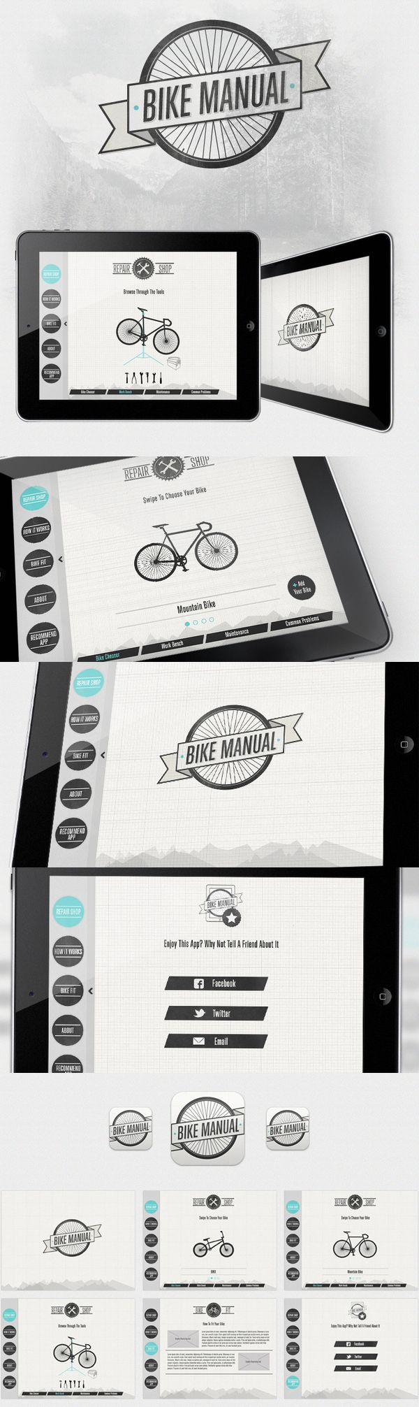 "I'd say ""Bike Manual"" looks to be well designed and quite useful."
