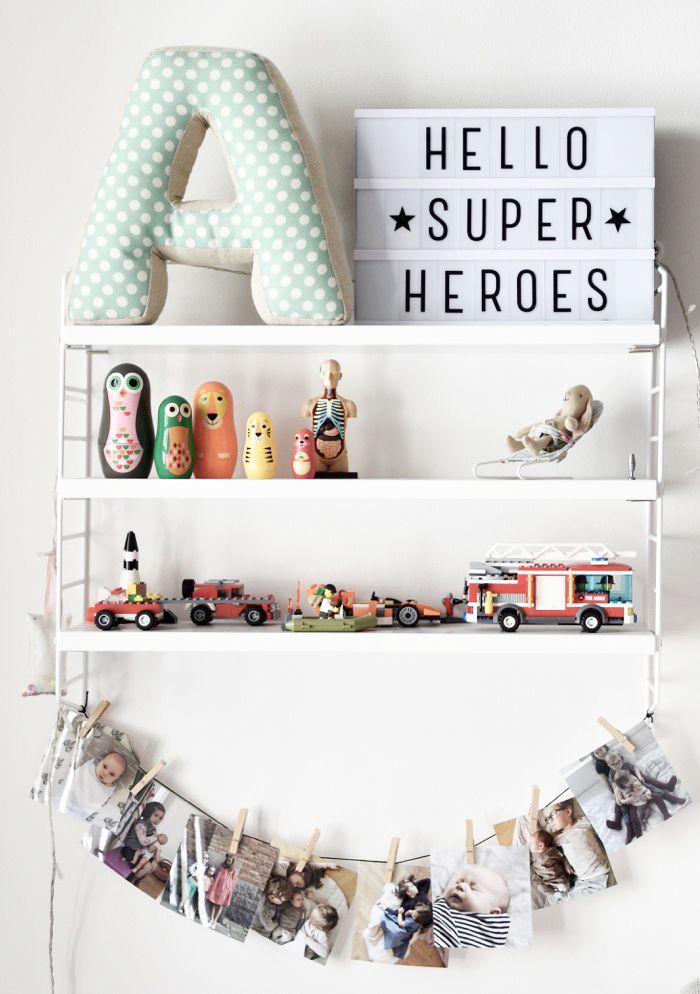 // Kids Room Wall Shelf