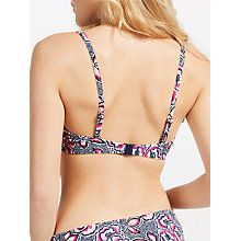 Buy John Lewis Dessert Rose Multiway Bikini Top, Blue/Pink Online at johnlewis.com