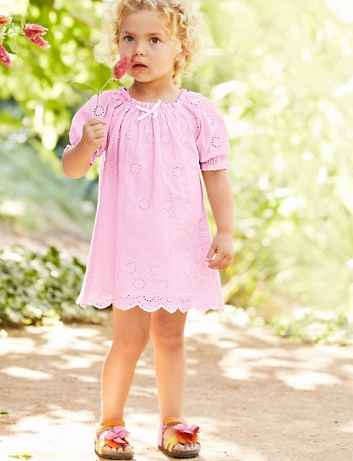 Baby Penelope Cotton Dress - Garnet Hill Kids