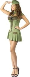 Army Girl Costume – 40's Pin up