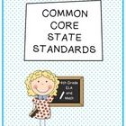 4th Grade Common Core ELA & Math Standards - Reference Sheets   Have you struggled with finding an easy-to-access list of the Common Core Standards?  I know I have -- until now!  Print these off double-sided as ...