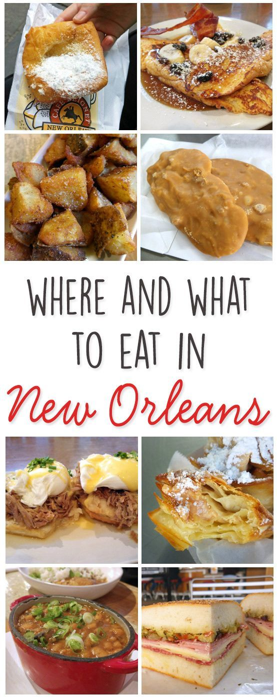 Where and What to Eat in New Orleans