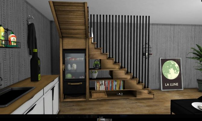 STAIRCASE at Leo Sims • Sims 4 Updates