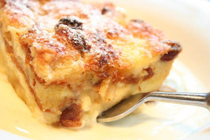 Panetonne Bread & Butter Pudding