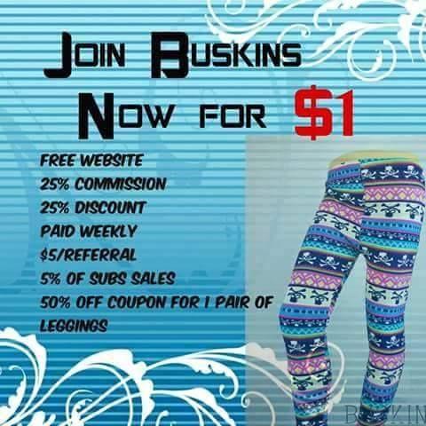 Buskins coupon code