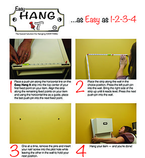 www.EasyHangIt.com  THE ABSOLUTE BEST WAY TO HANG JUST ABOUT EVERYTHING!