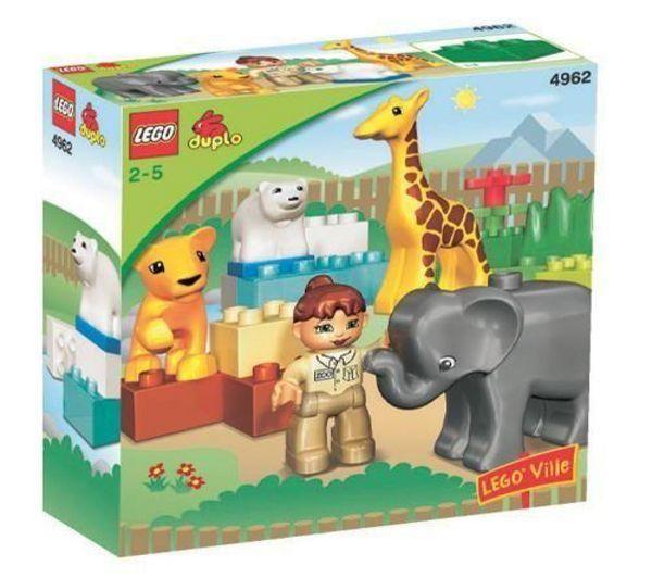 De dierentuin met jonge dieren Duplo - Lego 4962