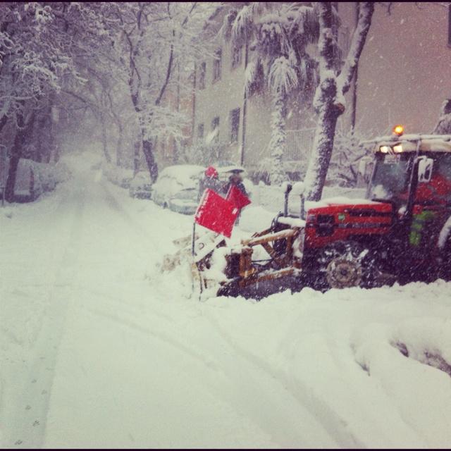 Neve tra le vie di Pesaro