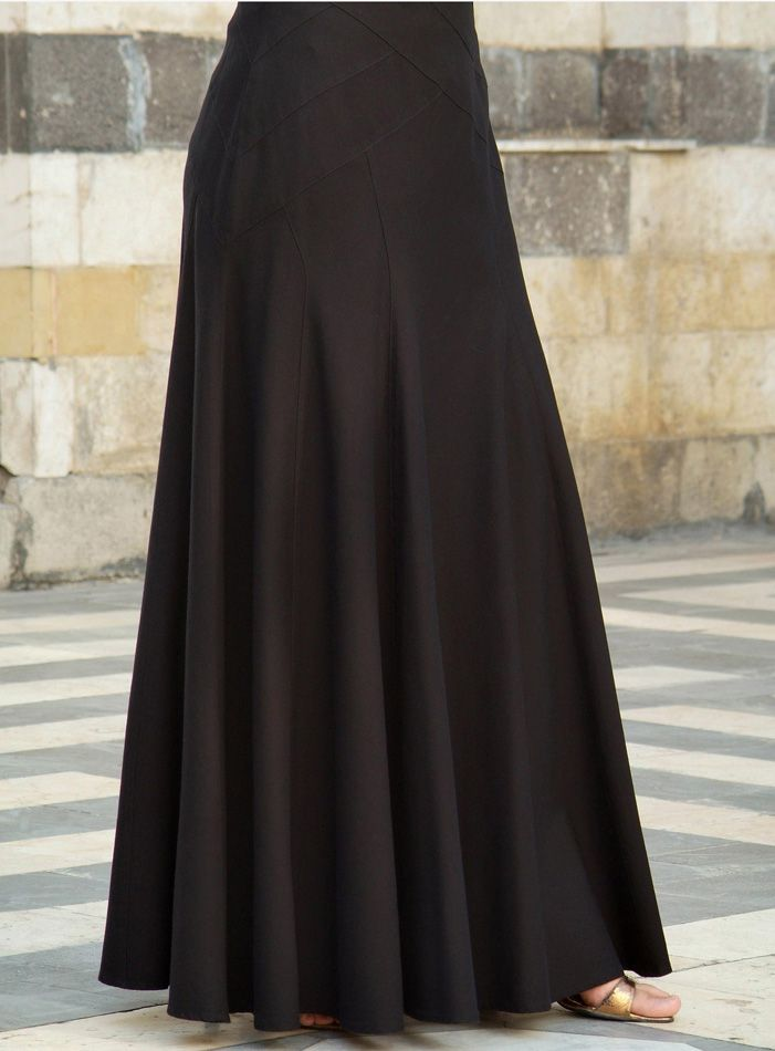 SHUKR USA | Geometric Flared Skirt