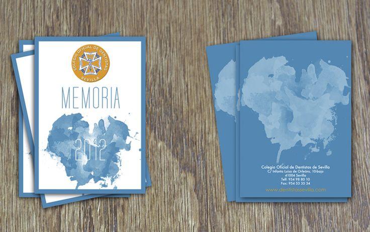 Memoria Colegio de Dentistas de Sevilla #stationey #design