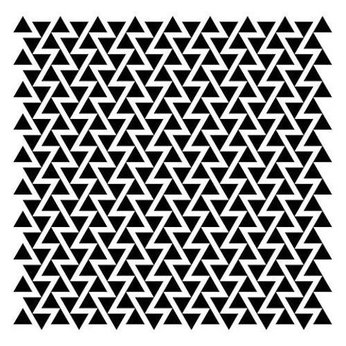 Zig Zag geometric pattern