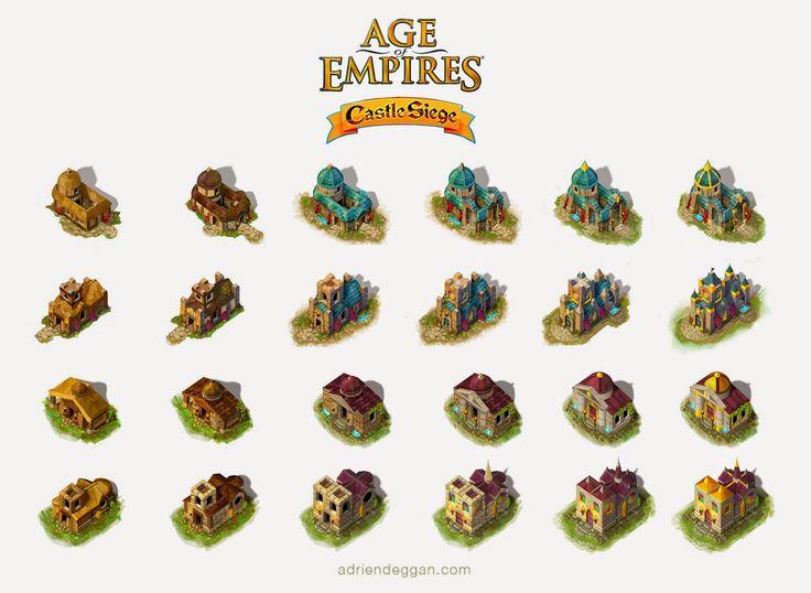 ADRIEN DEGGAN'S BLOG: Microsoft's Age of Empires, Castle Siege!