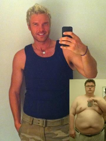 """This is David who says, """"In 2009 I weighed over 400lbs, had high blood pressure, acid reflux, sleep apnea and was scheduled for a gastric bypass surgery. After finding this program I cancelled my surgery, have lost over 200lbs, and have cured all of my obesity related conditions without drugs, surgery, hunger, or even exercise."""" David found both health AND hope with our program!"""