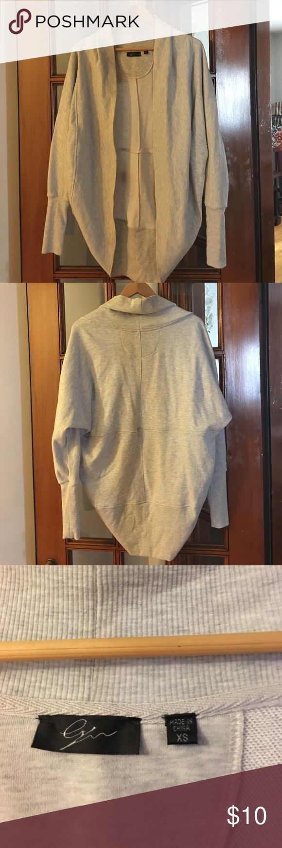 Like New, Grey Shrug. Perfect for Cool Nights! 😍 Never worn grey shrug purchased from TJ Maxx. Great for those cool summer nights or even the early fall! Super cute, comfortable and goes with everything! 💕 Sweaters Cardigans