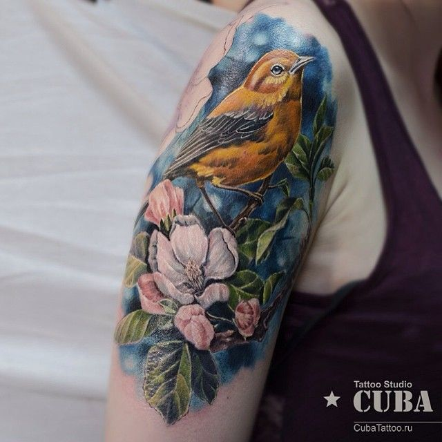 17 best images about tattoos on pinterest rope tattoo for Realistic bird tattoo