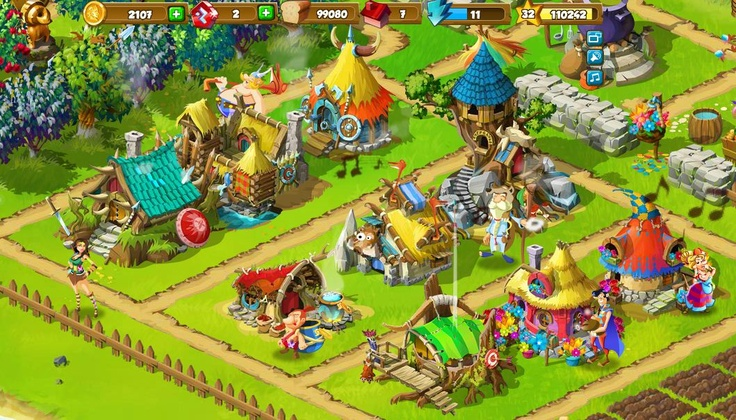 9 huts :) #happytale