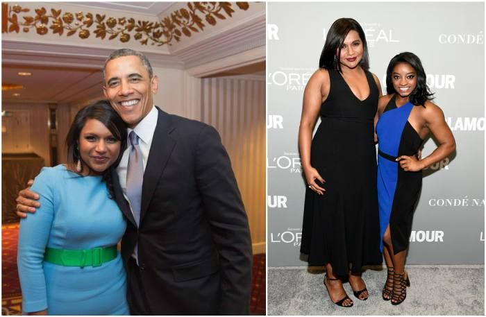 Mindy Kaling`s body measurements