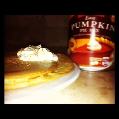 Little b's healthy habits: Perfect Pumpkin Protein Pancakes