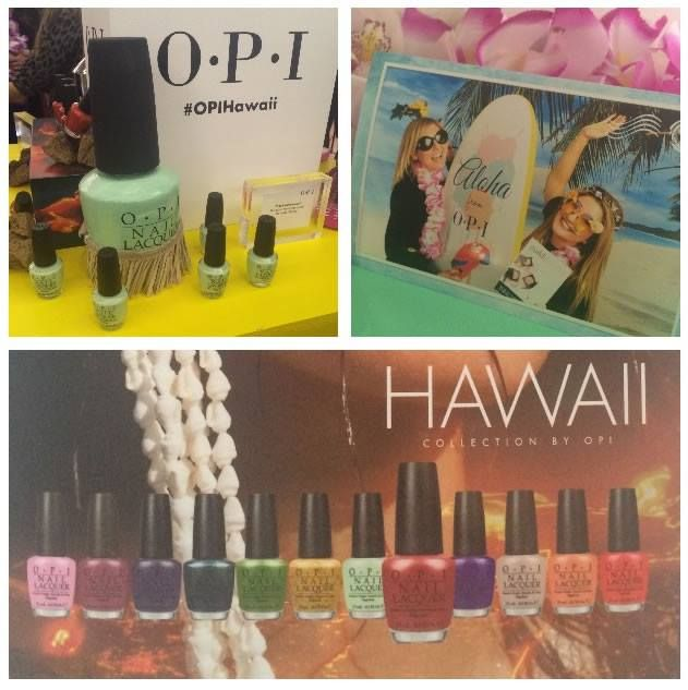 OPI UK Spring/Summer 2015 nail lacquer collection. OPI Hawaii.
