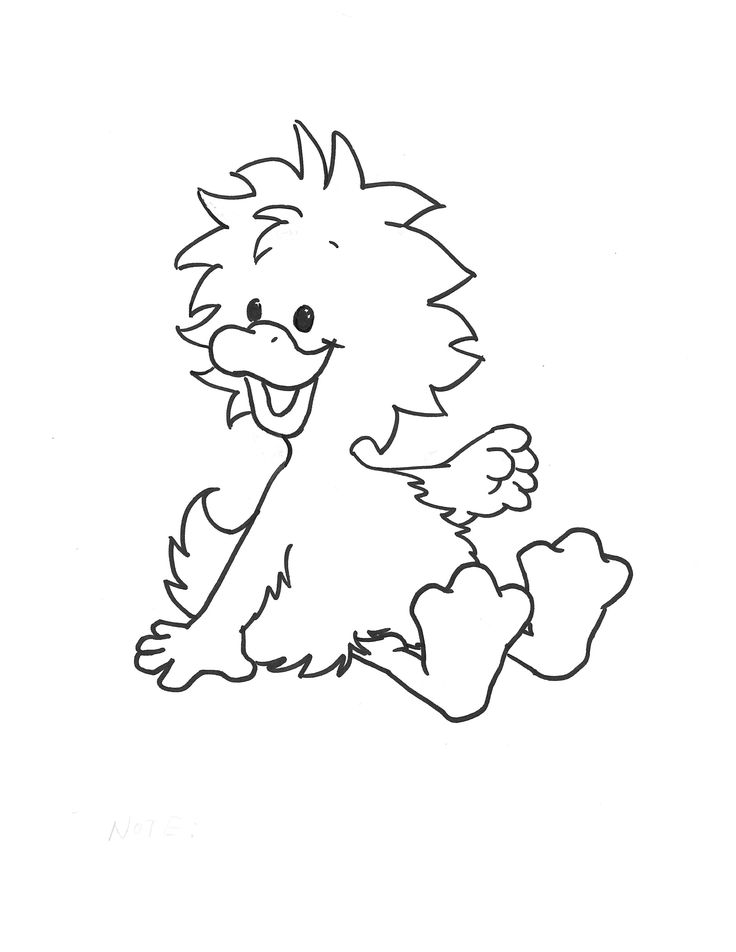 witzy from suzys zoo printable coloring page