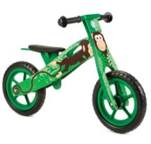 New Monkey Wooden Balance Bike