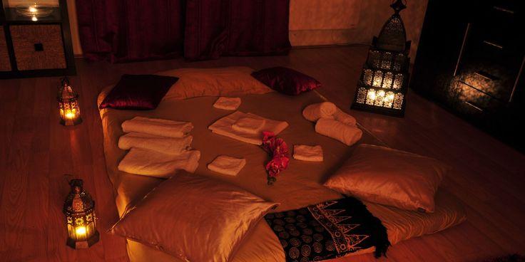 Tantra Massage Room in Harmony Spa Prague www.harmonyspa.cz