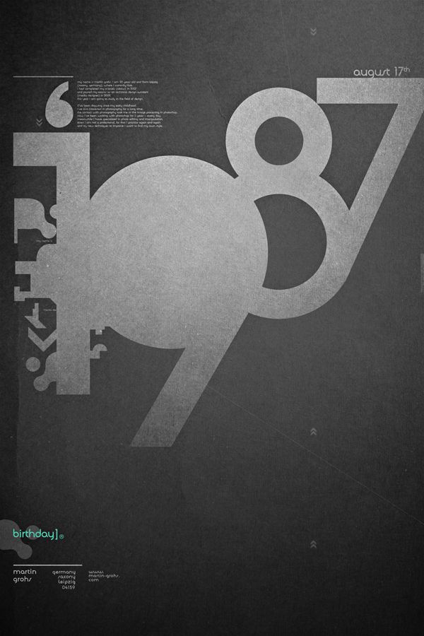 //\\: Graphics Design Prints, Posters Inspiration, First Baby, Posters Prints, 1987 Posters, Typography Design, 1987 Typography, Typography Graphicdesign, Birthday Graphics