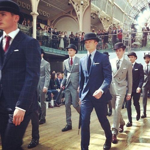Hackett London, London Menswear Fashion Week SS13