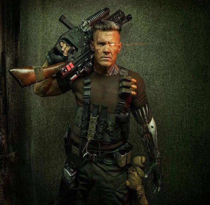Primeras imágenes de Josh Brolin como Cable en Deadpool 2