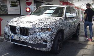 2019 BMW X5 and X5 M Take to the Nurburgring in Latest Spy Video :  The all-new X5 has to be a top priority for BMW right now. The company skipped doing a facelift for the current generation so that it can focus on the new CLAR architecture. Finally the prototypes are reaching the Nurburgring and the X5 M mule is there as well.   6 photos  Let's not forget that the X5 was the first BMW  SUV   an icon that's supposed to be easily recognizable.That being said the styling we see peeking from…