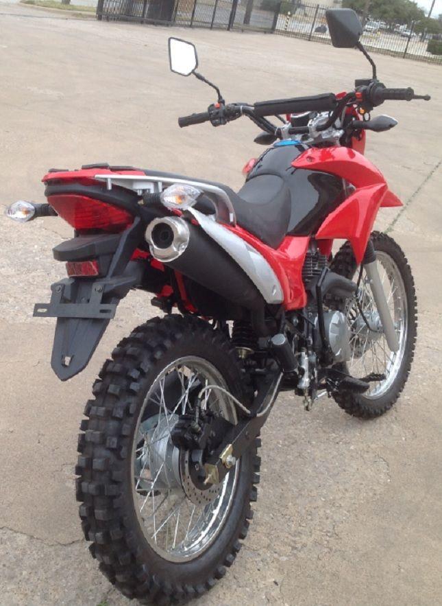 Vento Series Enduro 250cc Motorcycle - Powerful 5-Speed Transmission -