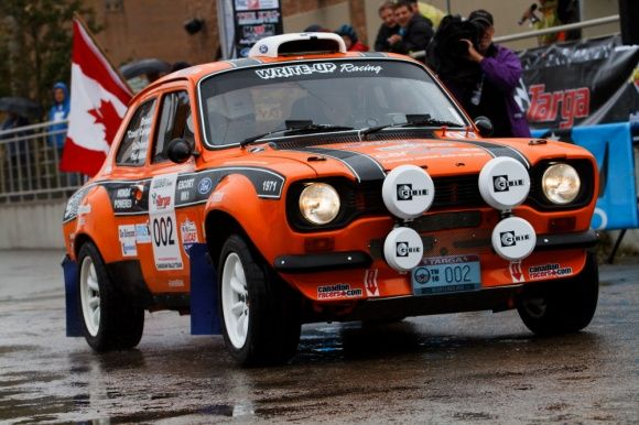 Ford Escort Mk1. This one is powered by a Honda S2000 engine.