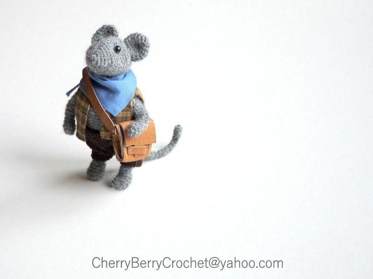Amigurumi Mouse Pattern Crochet : 188 best crochet mice ! images on pinterest computer mouse