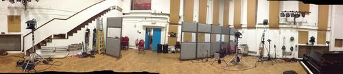 Abbey Road Studio 2, where The Beatles recorded during the sixties, man.