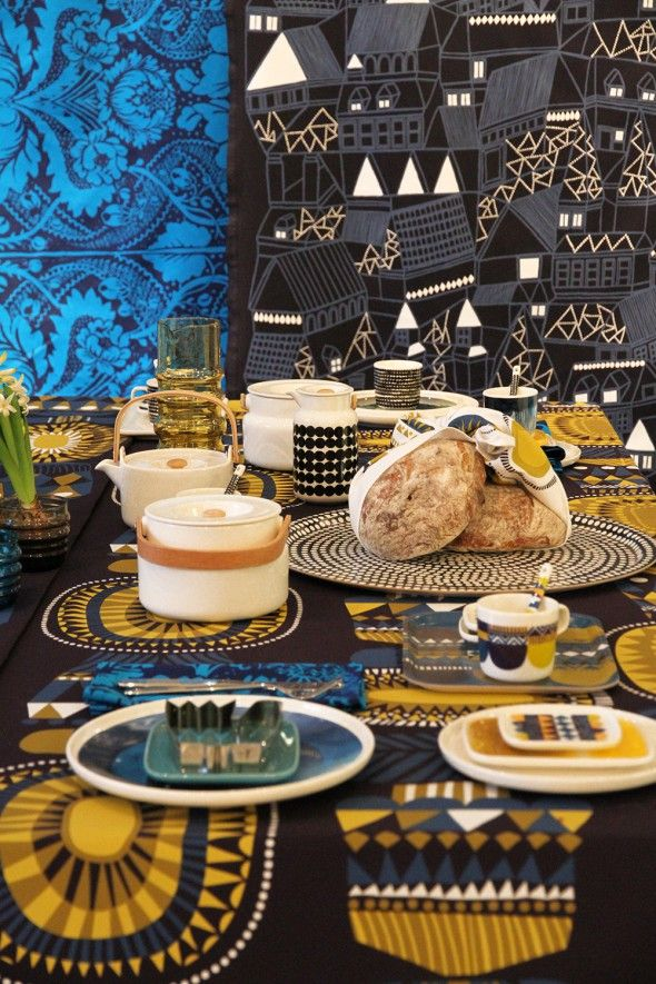 Marimekko in all its glory, fun & festive whatever the celebration..
