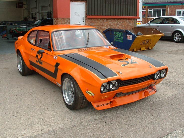 1971 Ford Capri Perana 5.0 V8 Silverstone Auctions
