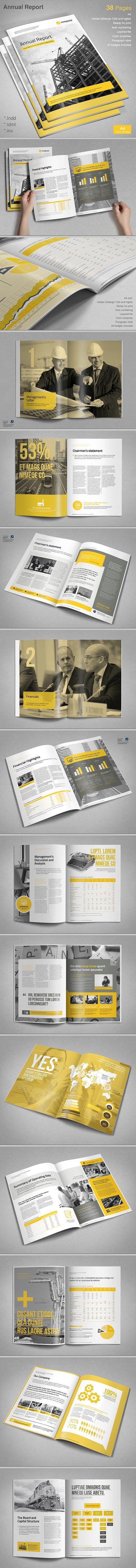 Annual Report - Brochures
