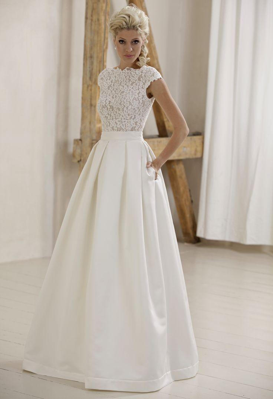 232 best Hochzeitskleider images on Pinterest | Bridal gowns ...