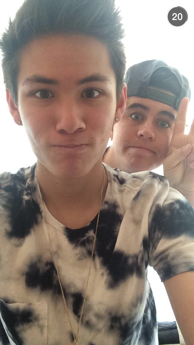 Carter Reynolds and Nash Grier