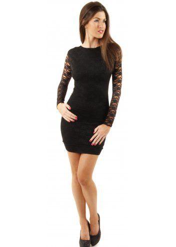 Honor gold black maxi dress