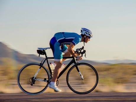 Maintain road bike posture