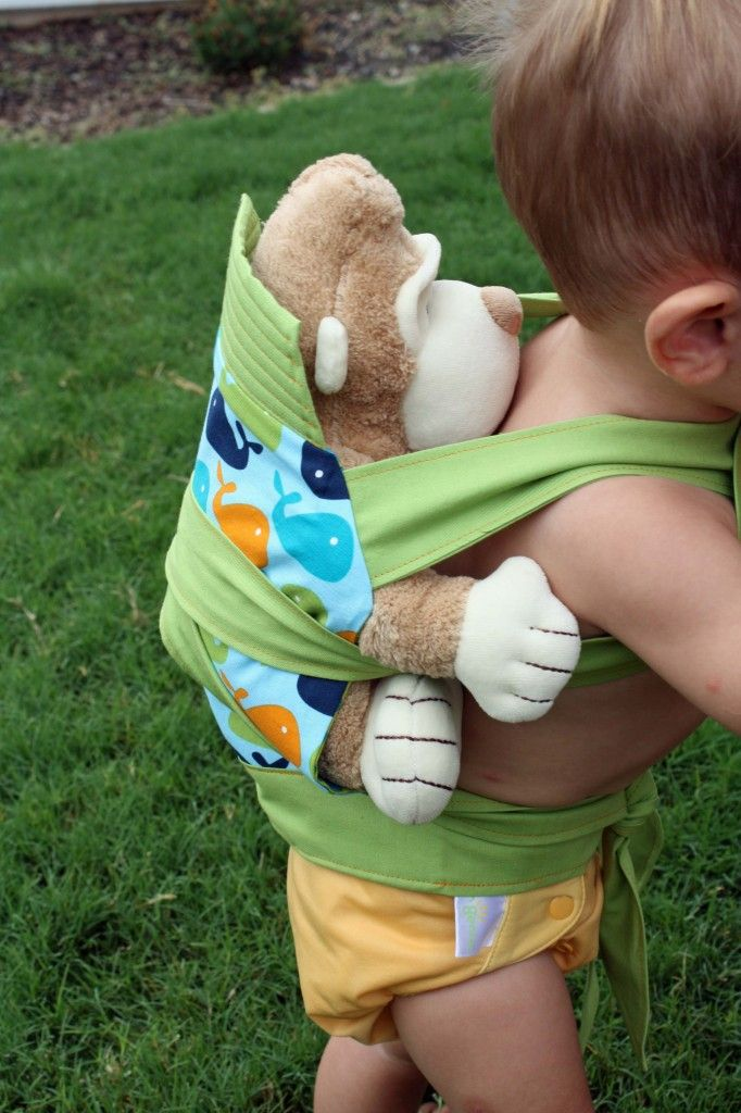 Mei Tai Doll Carrier Tutorial {Mindful Mama}